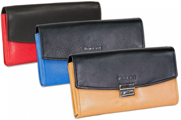Rimbaldi® - Professional waiter wallet with extra-reinforced coin compartment made of soft, natural cow leather