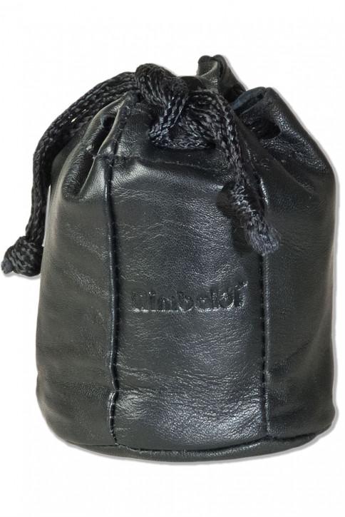 Rimbaldi® Tabaksbeutel mit Kordelzug und Druckknopfverschluss aus besonders weichem Schaf-Nappaleder