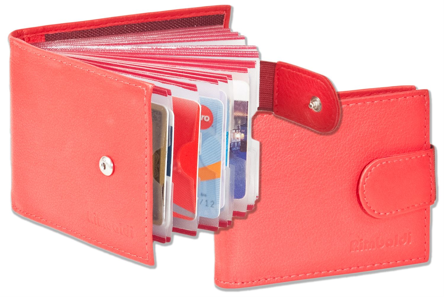 Rimbaldi® - Credit card holder for 18 cards or 36 business cards ...