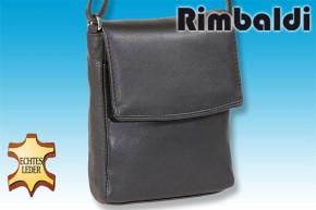 Rimbaldi® City-Bag aus feinem Rind-Nappaleder in Schwatrz