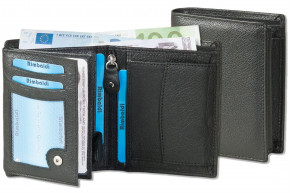 Rimbaldi® Wallet made from robust buffalo leather in black