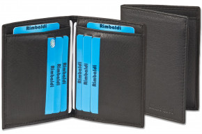 Rimbaldi® - Licence-/Creditcard case for 6 credit cards and 4 licence-cards made, from soft cow leather