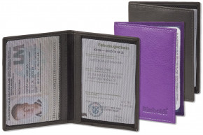Rimbaldi® - Licence-/Creditcard case for 6 credit cards and 4 licence-cards made, from soft, untreated cow skin