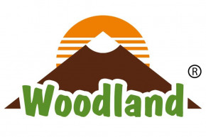 Woodland® - Umhängetasche aus naturbelassenem Büffelleder in Dunkelbraun/Taupe