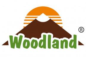 Woodland® Umhängetasche aus naturbelassenem Büffelleder in Dunkelbraun/Taupe
