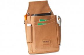 Woodland® Robustes Profi-Kellnerbörsen-Holster aus weichem, naturbelassenem Büffelleder