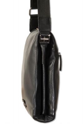 Platino - Umhängetasche mit Kleincomputerfach aus bestem, naturbelassenem Rindsleder