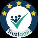 5 von 5 Sternen auf Trustami.com